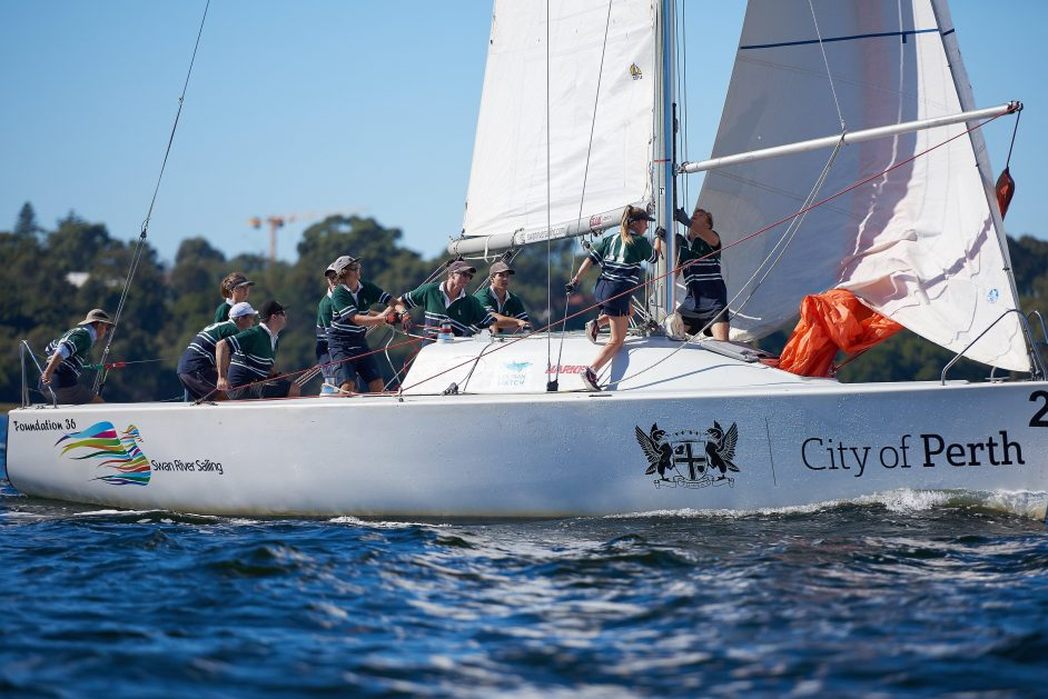 Swan River Sailing College Cup 2017