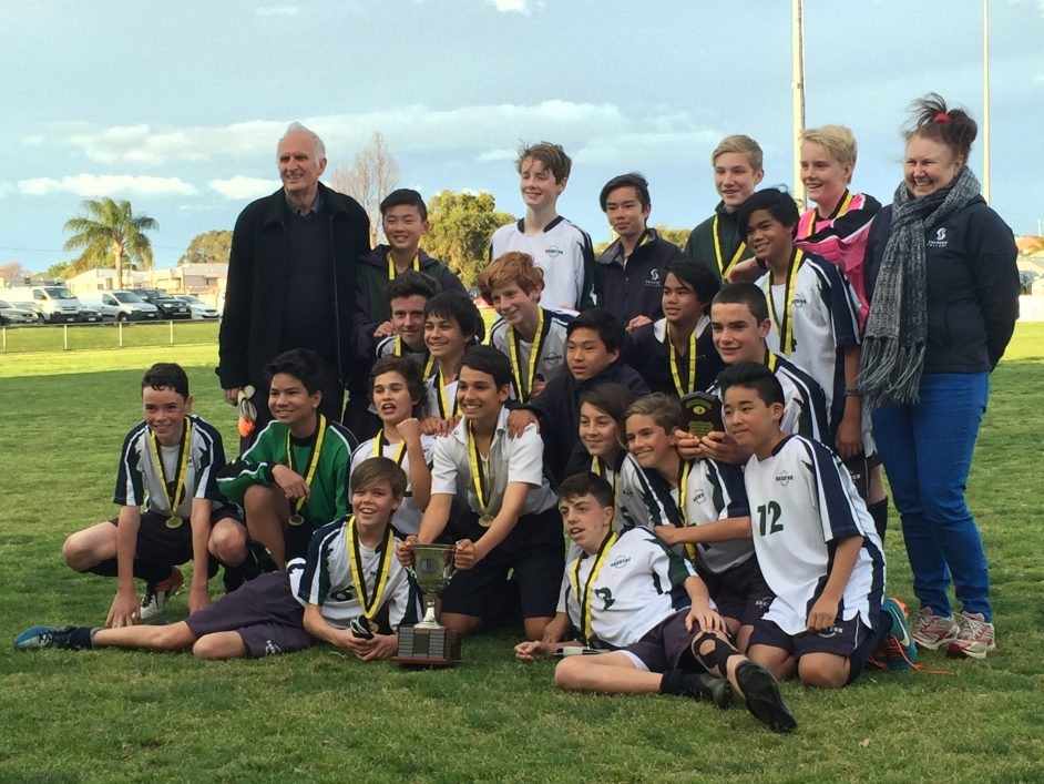 Shenton Junior Boys Soccer WA State Champions