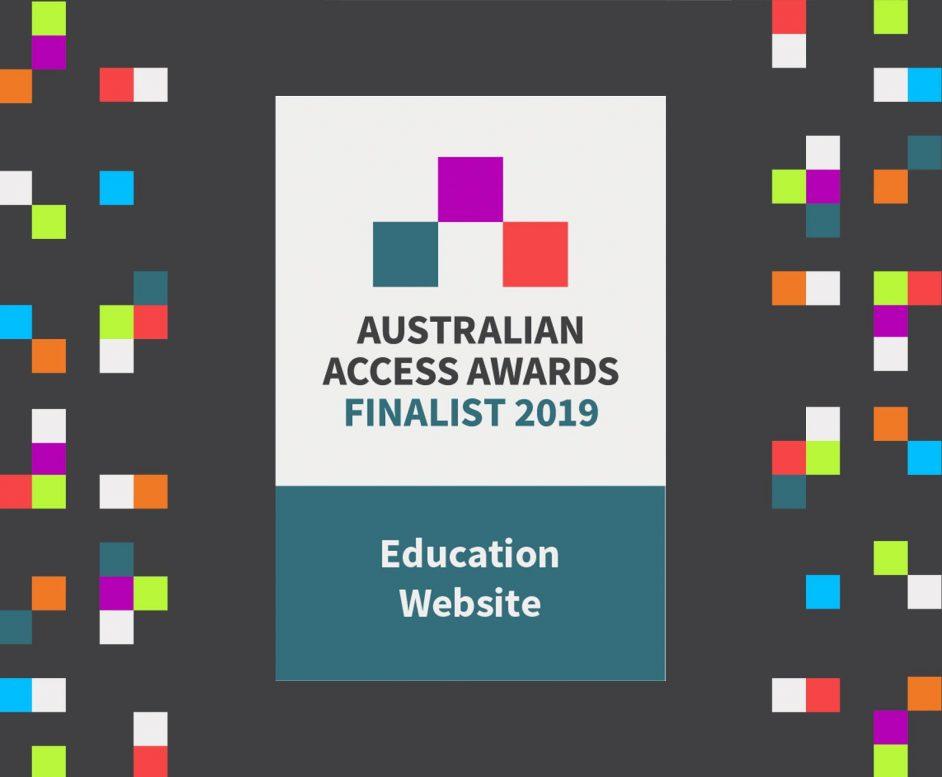 Australian Access Awards finalist